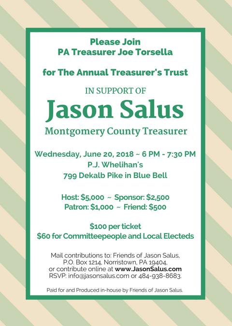2018 Treasurer's Trust